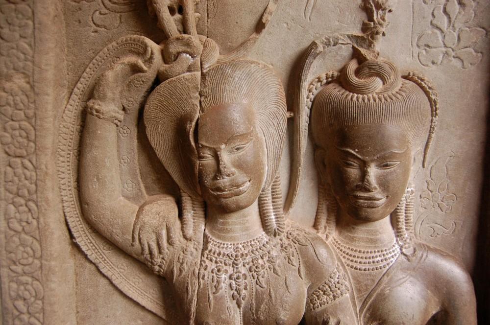 Aspara, Angkor Wat